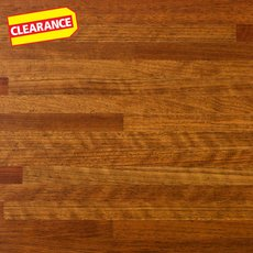 Clearance! Brazilian Cherry Butcher Block Island 6ft.