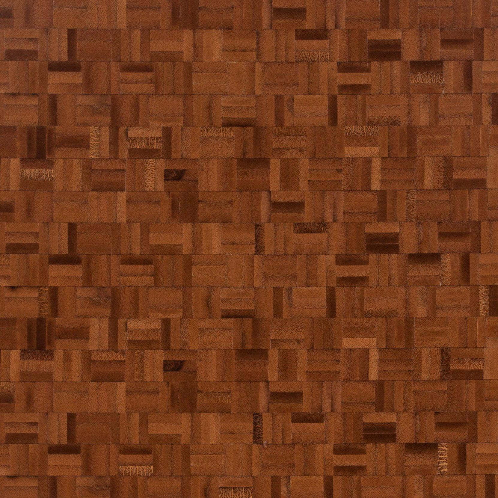 bamboo mosaic butcher block countertop 12ft
