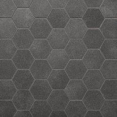 Uptown Antracite Hexagon Porcelain Mosaic
