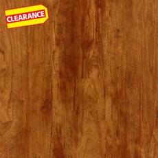 Clearance! Highland Cherry High-Gloss Luxury Vinyl Plank