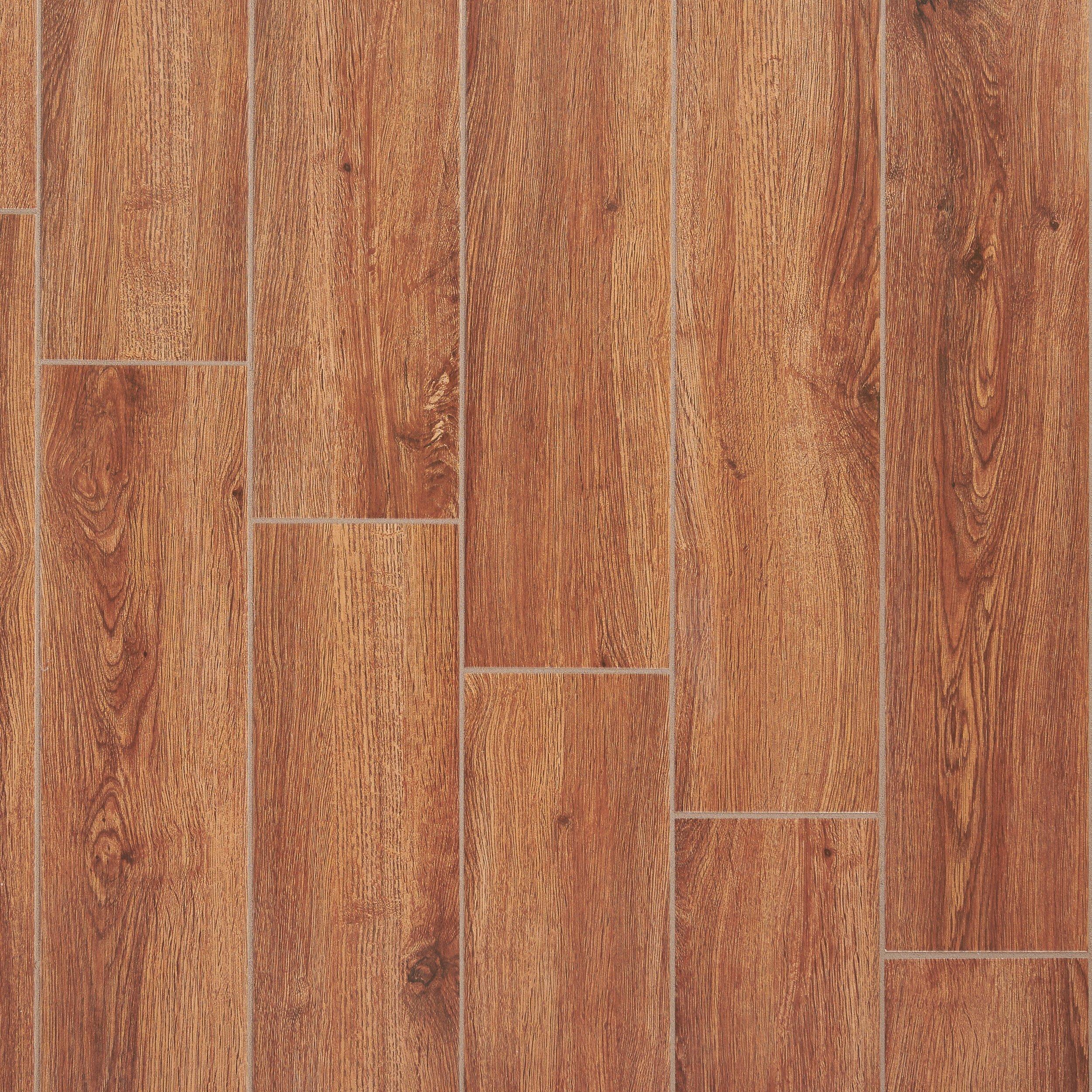 Brighton Natural Wood Plank Ceramic Tile 7 X 20 100191287