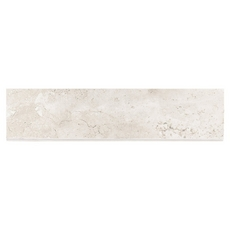 Tarsus Almond Polished Porcelain Bullnose