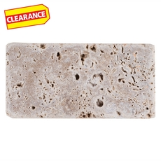 Clearance! Noce Fill Travertine Tile