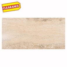 Clearance! Navona Silver Brushed Travertine Tile