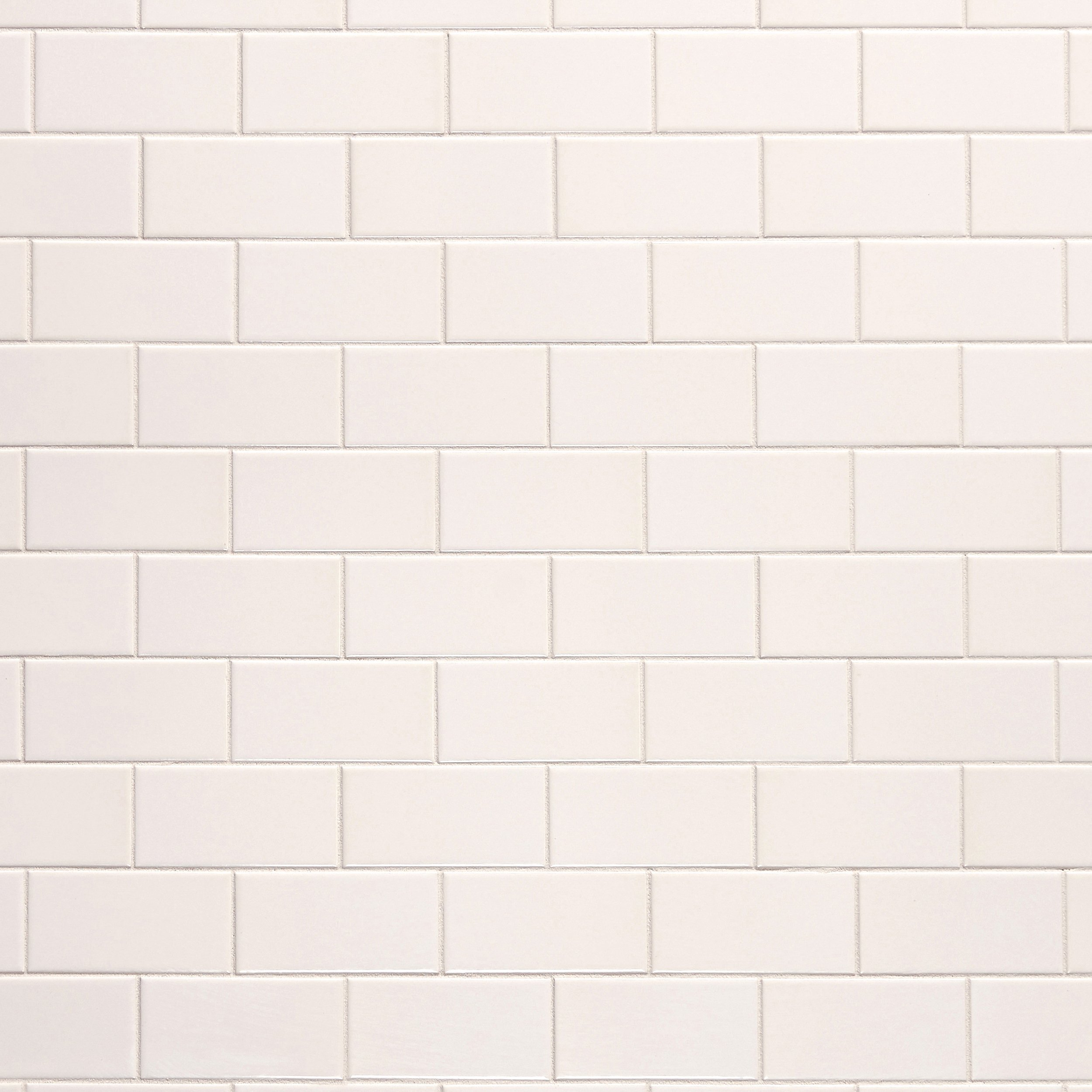 Bright White Ice Beveled Ceramic Wall Tile 3 X 6