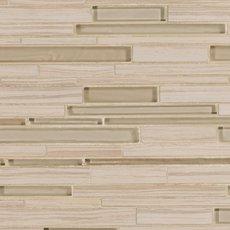 Acadia Sand Linear Glass Mosaic
