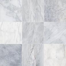 Ocean Silver Marble Tile
