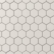 Metro Gray Matte Hexagon Porcelain Mosaic