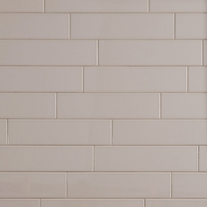 Metro Gray Glossy Ceramic Wall Tile