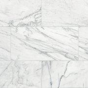 Ocean White Marble Tile