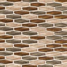 Copper Blush Glass Mosaic