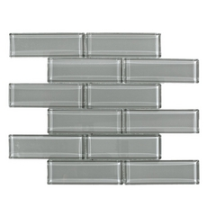 Shadow Brick Glass Mosaic