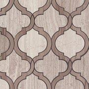 Valentino Mix Arabesque Water Jet Cut Marble Mosaic