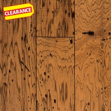 Clearance! Natural Antique Hickory Distressed Engineered Hardwood