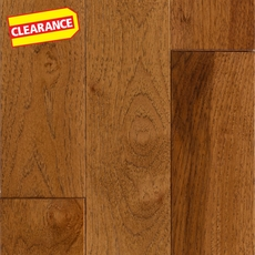 Clearance! Sugar Hickory Wire Brushed Solid Hardwood