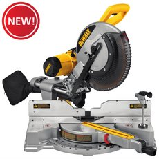 New! DeWalt Dual Bevel 12in. Sliding Compound Miter Saw