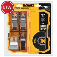 New! DeWalt Oscillating Blade 5 Piece Set