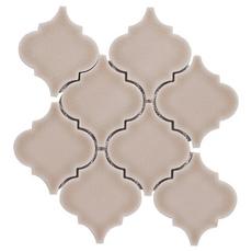 Villa Heirloom Clay Arabesque Porcelain Mosaic