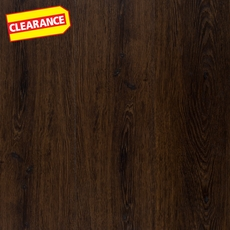 Clearance! Dark Oak XL Luxury Vinyl Plank