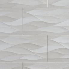 Idole Tear Gray Ceramic Tile