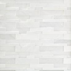 Lexington White Honed Quartzite Panel Ledger