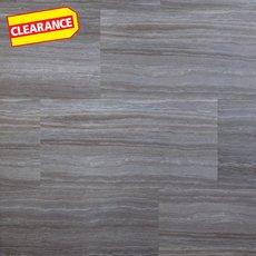 Clearance! Travertine Fog Groutable Vinyl Tile
