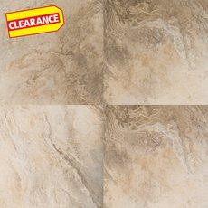 Clearance! Afyon Beige Vinyl Tile