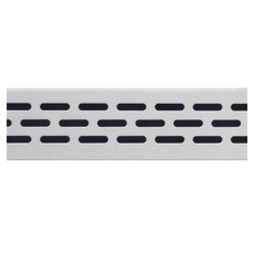 Compotite 24in. Oval Design Stainless Steel Grate