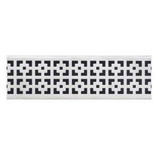 Compotite 24in. Mission Design Stainless Steel Linear Drain Grate