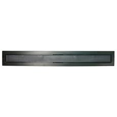 Compotite 36in. Tile-in Top Black ABS Linear Drain Cover Plate