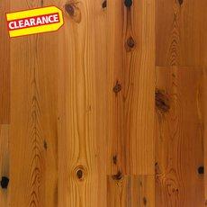 Clearance! Reclaimed New Heart Pine Engineered Hardwood