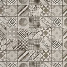 Castel Patchwork Gray Porcelain Tile