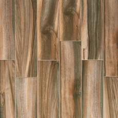 Marina Walnut Wood Plank Porcelain Tile