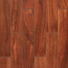 Cottage Grove Red Wood Plank Porcelain Tile