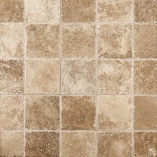 Antique Bari Chiseled Travertine Tile