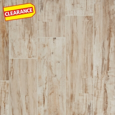 Clearance! Batavia Almond Wood Plank Ceramic Tile