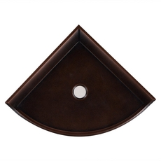 Oil Rubbed Bronze Decorative Corner Shelf
