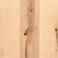 Natural Maple Smooth Solid Hardwood