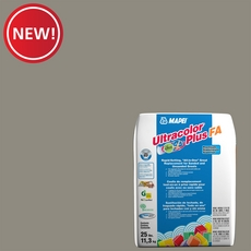New! Mapei 02 Pewter Ultracolor Plus FA Grout