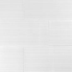 Loft White II Polished Ceramic Tile