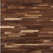 Black Walnut Hardwood Wall Plank Panel
