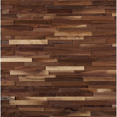Dimensions Hardwood Black Walnut Wall Plank Panel
