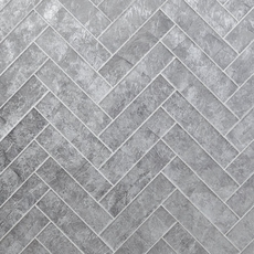 Silver Lumiere Glass Wall Tile