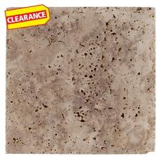 Clearance! Sahara Cross Cut Brushed Travertine Tile