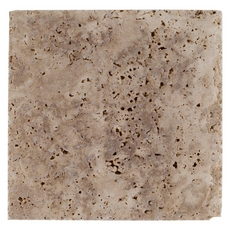 Sahara Cross Cut Brushed Travertine Tile