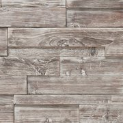 Ashen Barn Panel Wood Mosaic