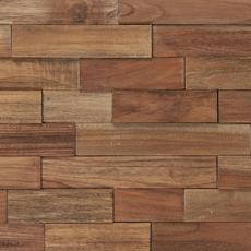 Teak Panel Parts Wood Mosaic