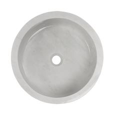 Bianco Carrara Round Marble Sink