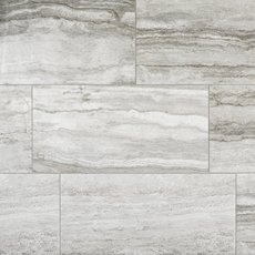 Travertino Grigio Polished Porcelain Tile