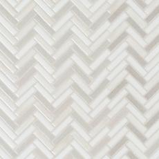 Abalone Herringbone Ceramic Mosaic